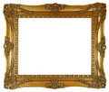 Golden Picture Frame Stock Photography - 2280282