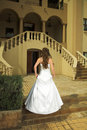 Beautiful Tuscan Bride With Br Stock Photography - 2289872