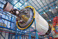 Saturn V Rocket Stage III, Cape Canaveral, Florida Stock Image - 22812291