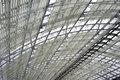 Steel And Glass Roof Construction Royalty Free Stock Images - 22849839