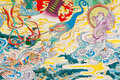 Antique Chinese Mural. Stock Photography - 22854042