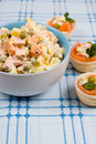 Russian Traditional Salad Royalty Free Stock Photo - 22870925