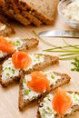 Mini Sandwiches Royalty Free Stock Images - 22899549