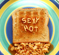 Sexy Hot Toast Royalty Free Stock Images - 2291959