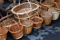 Wicker Baskets Royalty Free Stock Image - 22911896