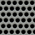 Metal Surface With Holes. Royalty Free Stock Photos - 22914528