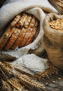 Bread And Wheat Ears Royalty Free Stock Image - 22917346