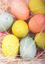 Speckled Easter Eggs Royalty Free Stock Photo - 22934125