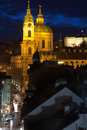 St.Nicholas Cathedral In Mala Strana, Prague Royalty Free Stock Images - 22951609