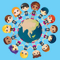 We Love The Earth Royalty Free Stock Photography - 22962137