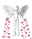 The Angel Of Love Royalty Free Stock Photo - 22964945
