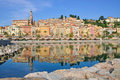 Menton,French Riviera Royalty Free Stock Photo - 22979175