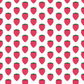 Fresh Strawberry Fruit Graphic Pattern Stock Photography - 22991662