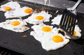 Eggs On A Frying Pan Royalty Free Stock Photos - 2302518