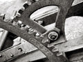 Gears And Levers On Old Plow Stock Image - 2306491