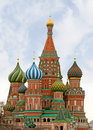 Moscow, St Basils Cathedral Stock Photo - 23002910