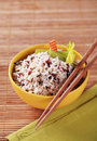 Bowl Of Mixed Rice Royalty Free Stock Photography - 23028827