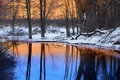Winter Reflection Stock Photography - 23029052