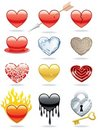 Heart Icons Royalty Free Stock Images - 23039999