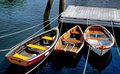 Rowboats Moored In Rockport Harbor, Maine Stock Image - 23047951