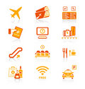 Airport Icons | JUICY Series Stock Images - 23071644