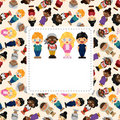 Wolrd People Card Stock Photography - 23081662