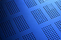 Abstract Blue Metal Background Royalty Free Stock Photography - 23087667