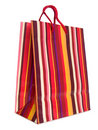 Colorful Striped Shopping Bag Royalty Free Stock Images - 2310969