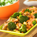 Vegetarian Stir-Fry Thai-Style Royalty Free Stock Photo - 23107385