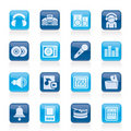 Music And Sound Icons Royalty Free Stock Photo - 23113275