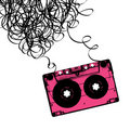 Audiocassette Tape With Tangled. Royalty Free Stock Photo - 23116075