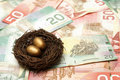 Wealthy Nest Egg Royalty Free Stock Image - 23124416