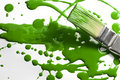 Messy Painting Green Royalty Free Stock Photos - 23126438