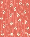 Seamless Floral Background In Vector Stock Photos - 23136163