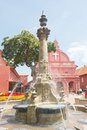 Christ Church Fountain Royalty Free Stock Images - 23146069