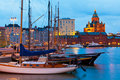 Old Port In Helsinki, Finland Royalty Free Stock Photo - 23180735
