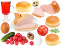 Set Of Food Ingredients Stock Images - 23184184