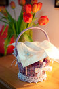 Easter Basket Royalty Free Stock Photo - 23190755
