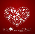 Heart With Set Of Icons Stock Photography - 23191142
