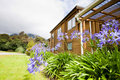 Mountain Lodge Exterior Royalty Free Stock Images - 23191409