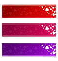 Valentines Banners - Vector Royalty Free Stock Image - 23198206
