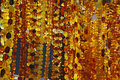 Amber Necklaces Royalty Free Stock Photography - 23209057