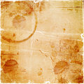 Old Paper With Drops Of Coffee Royalty Free Stock Photo - 23209825