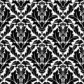 Retro Flourish Seamless Pattern Royalty Free Stock Photo - 23211855