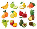 Set Of Fruit Stock Images - 23215964