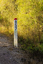 Mile Post HDR Royalty Free Stock Images - 23223099