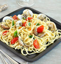 Seafood Pasta Royalty Free Stock Photography - 23225327
