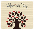 Fall In Love Valentines Day Tree Royalty Free Stock Images - 23227449
