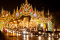 Traffic In Bangkok By Night Royalty Free Stock Photos - 23246038
