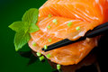 Salmon Sashimi Stock Photography - 23259352